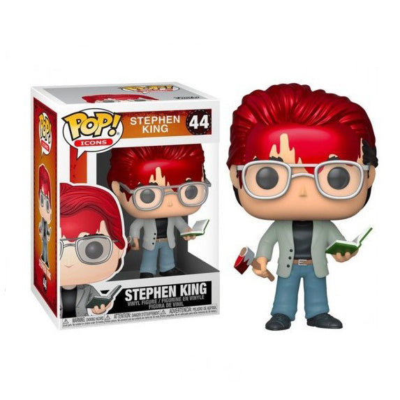 Icons Pop! Vinyl Figure Stephen King [44] - Fugitive Toys