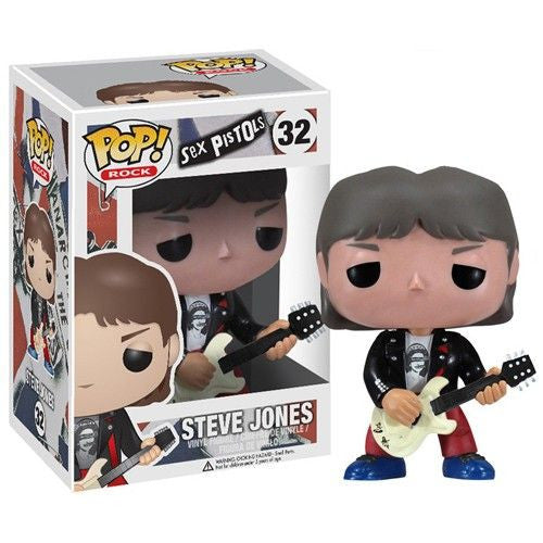 Rocks Pop! Vinyl Figure Steve Jones [Sex Pistols]