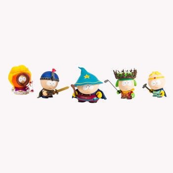 South Park x Kidrobot The Stick of Truth: (Set of 5)