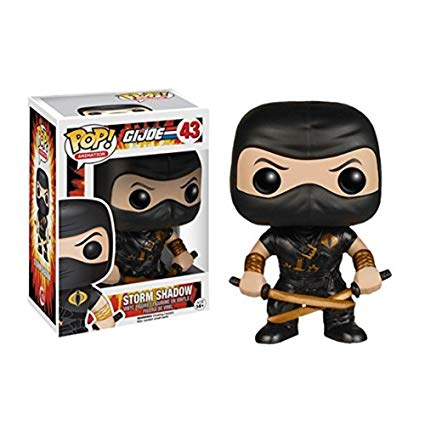 G.I. Joe Pop! Vinyl Figures Storm Shadow Ninja-Ku [43] - Fugitive Toys