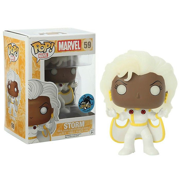 Marvel Pop! Vinyl Bobblehead Glow in the Dark Storm [X-Men] Exclusive