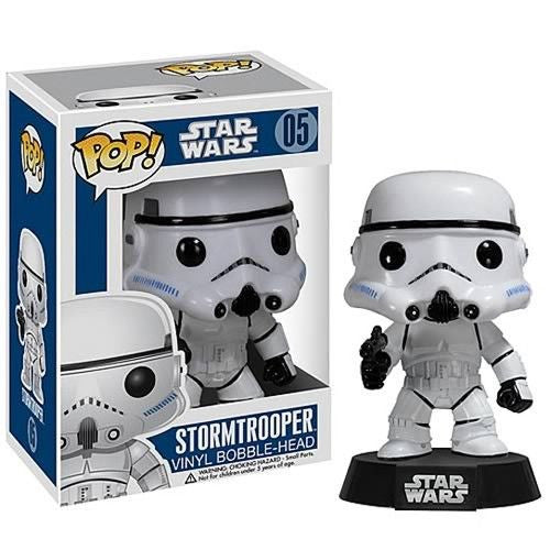 Star Wars Pop! Vinyl Bobblehead Stormtrooper [05] - Fugitive Toys