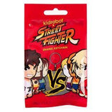 Kidrobot x Street Fighter Enamel Keychain: (1 Blind Pack) - Fugitive Toys