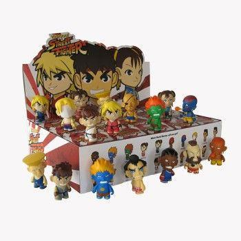 Kidrobot Street Fighter Mini Series 1 (Case of 20)