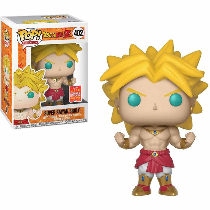 Dragon Ball Z Pop! Vinyl Figure Super Saiyan Broly (Summer 2019 Convention) [402]