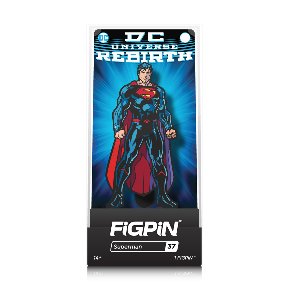 DC Comics Rebirth: FiGPiN Enamel Pin Superman [37]