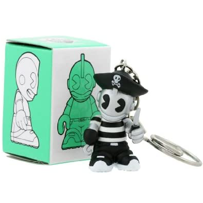 Kidrobot Super Mini with Keychain Series 4: (1 Blind Box) - Fugitive Toys