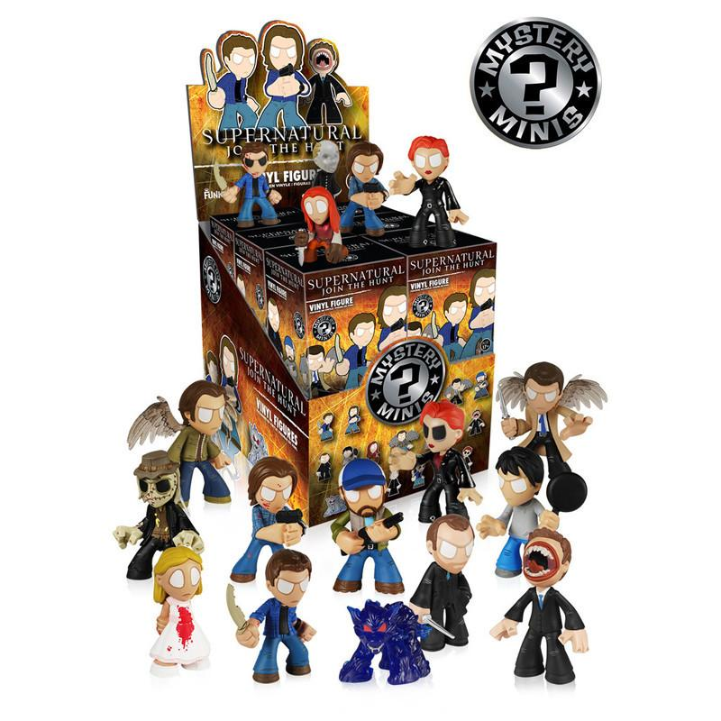 Supernatural Mystery Minis: (Case of 12) - Fugitive Toys