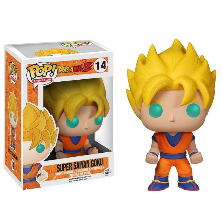 Dragon Ball Z Pop! Vinyl Figure Super Saiyan Goku [14]