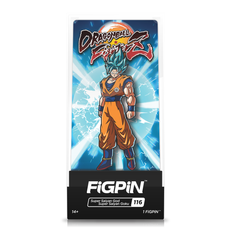 Dragon Ball Fighterz: FiGPiN Enamel Pin Super Saiyan God Super Saiyan Goku [116]