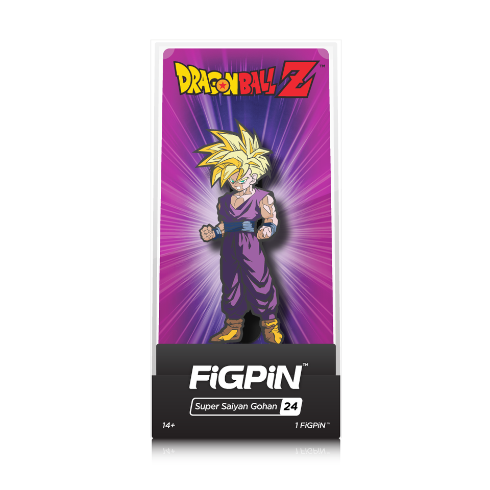 Dragon Ball Z: FiGPiN Enamel Pin Super Saiyan Gohan [24]