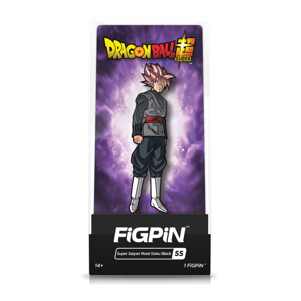 Dragon Ball Super: FiGPiN Enamel Pin Super Saiyan Rose Goku Black [55]