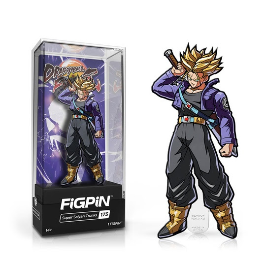 Dragon Ball FighterZ: FiGPiN Enamel Pin Super Saiyan Trunks [175]