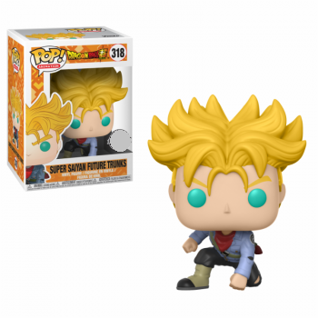 Dragonball Z Pop! Vinyl Figure Super Saiyan Future Trunks [318]