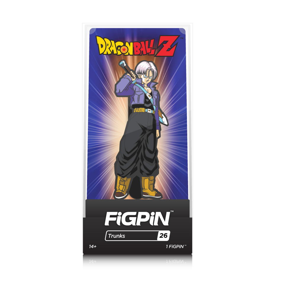 Dragon Ball Z: FiGPiN Enamel Pin Trunks [26] - Fugitive Toys