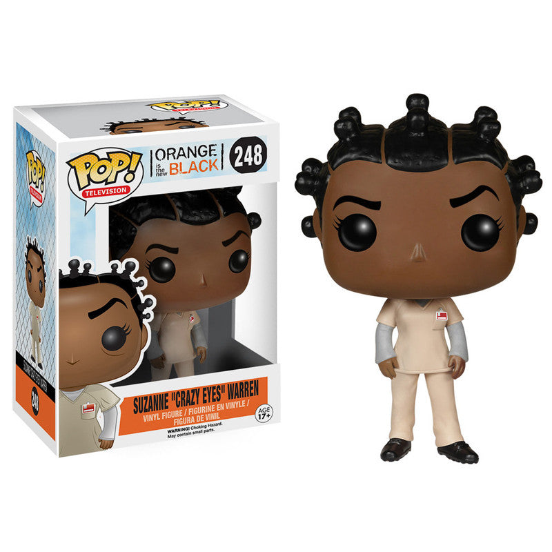Orange is the New Black Pop! Vinyl Figure Suzanne 'Crazy Eyes' Warren