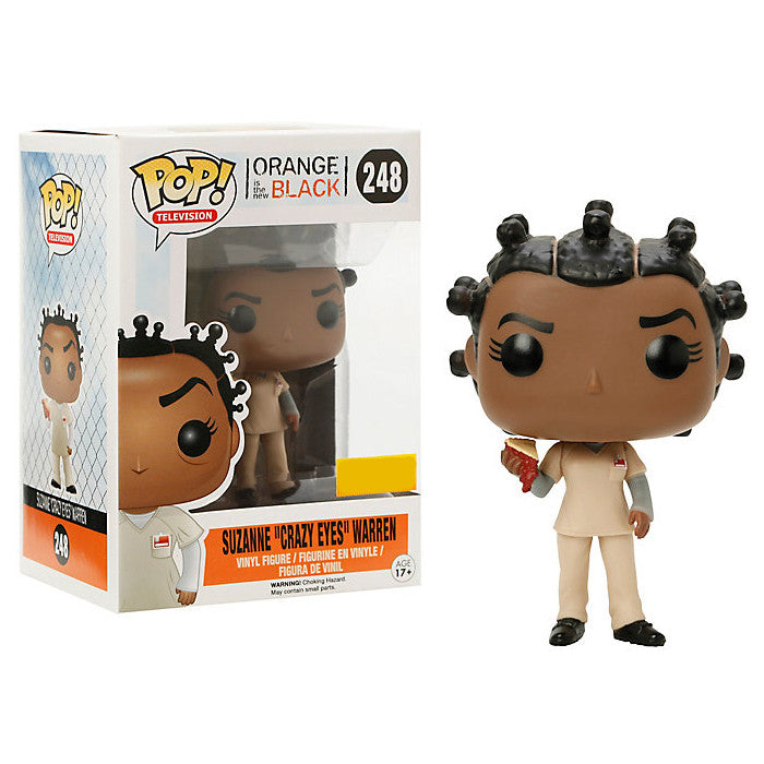 "Orange is the New Black Pop! Vinyl Figure Suzanne ""Crazy Eyes"" Warren with Cherry Pie [Exclusive]"