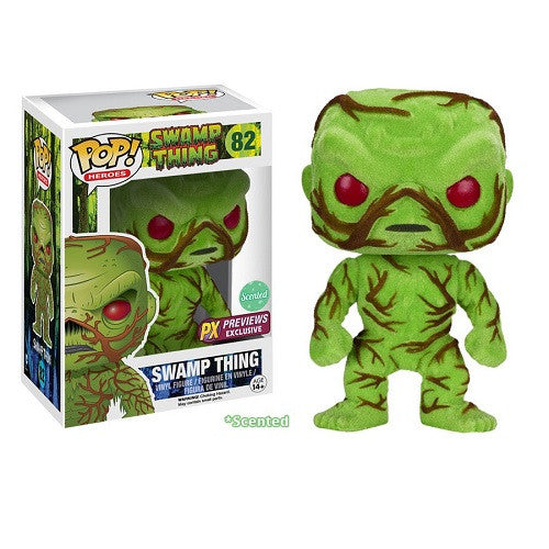 DC Universe Pop! Vinyl Figure Swamp Thing SCENTED [Previews Exclusive]