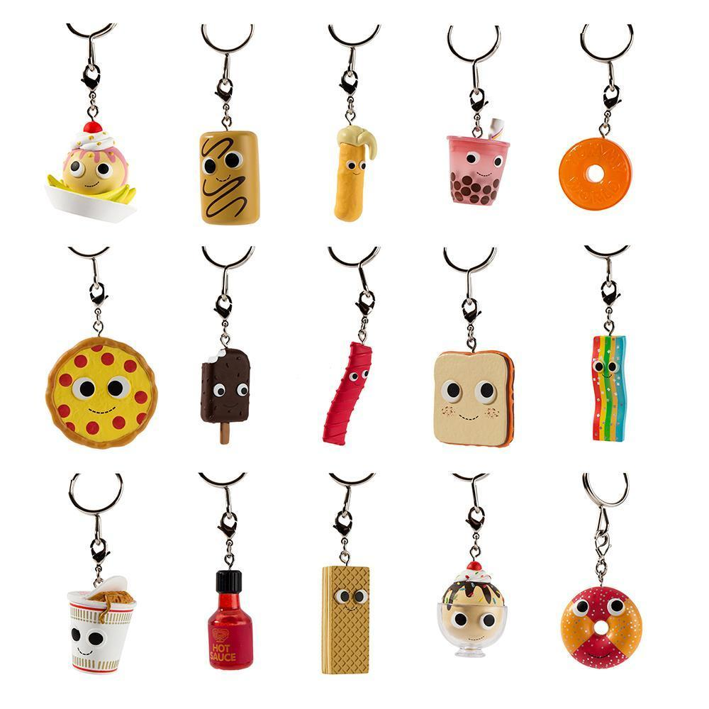 Kidrobot Yummy World Sweet & Savory Collectible Keychain Series: (1 Blind Pack)