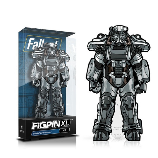 Fallout: FiGPiN XL Enamel Pin T-60 Power Armor [X6]