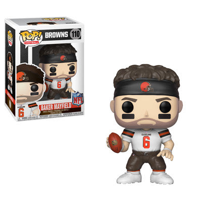 NFL Pop! Vinyl Figure Baker Mayfield [Cleveland Browns] [110] - Fugitive Toys