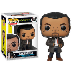 Cyberpunk 2077 Pop! Vinyl Figure Takemura [589]