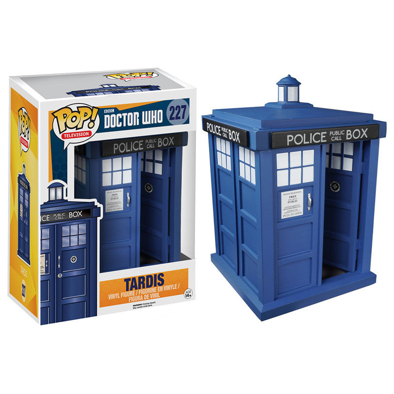 Doctor Who Pop! Vinyl Figure TARDIS [6-Inch]