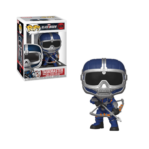 Black Widow Pop! Vinyl Figure Taskmaster (Bow) [606] - Fugitive Toys