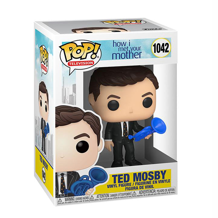 How I Met Your Mother Pop! Vinyl Figure Ted Mosby with Blue French Horn [1042] - Fugitive Toys