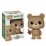 Movies Pop! Vinyl Figure Ted with Beer Bottle [Ted 2]