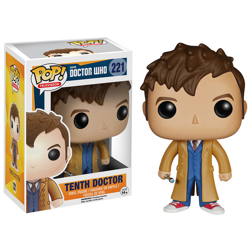 Doctor Who Pop! Vinyl Figure Tenth Doctor [221]