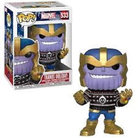 Marvel Pop! Vinyl Figure Thanos (Holiday Sweater) [533]