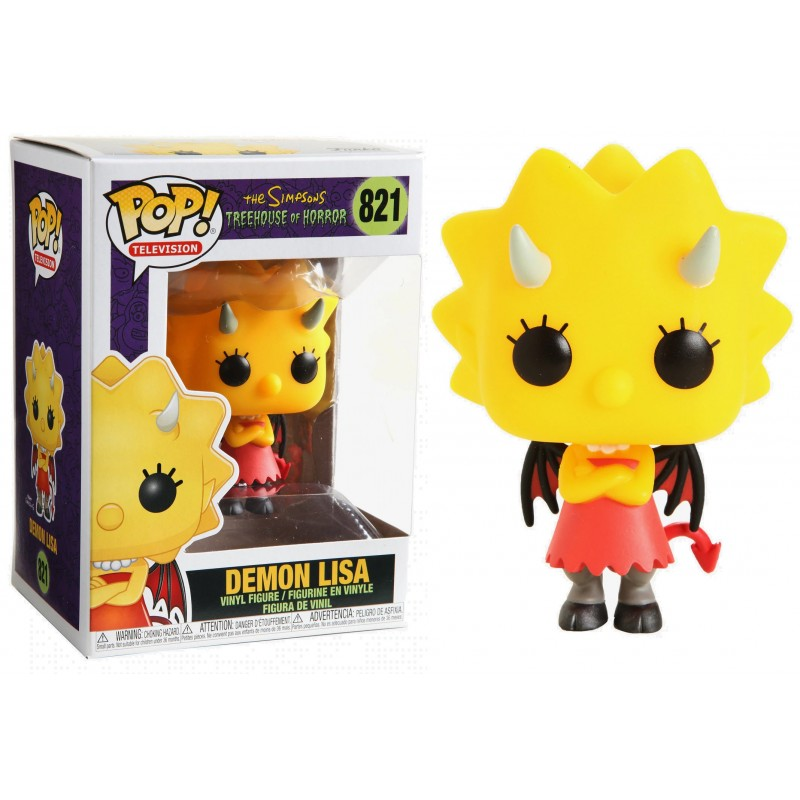 Simpsons Pop! Vinyl Figure Demon Lisa [821]