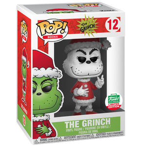 The Grinch Pop! Vinyl Figures Black and White The Grinch [12]