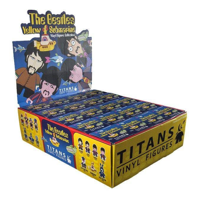 Titans The Beatles Yellow Submarine Vinyl Figures: (Case of 20)