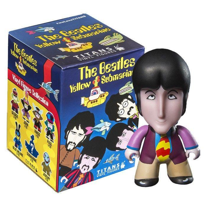 Titans The Beatles Yellow Submarine Vinyl Figures: (1 Blind Box)