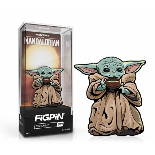 Star Wars The Mandalorian: FiGPiN Enamel Pin The Child With Soup [510]
