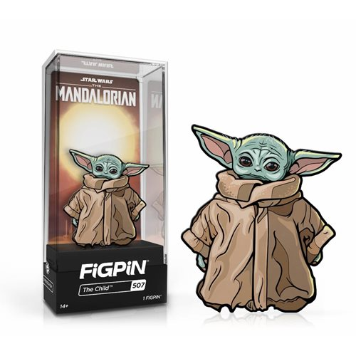 Star Wars The Mandalorian: FiGPiN Enamel Pin The Child [507]