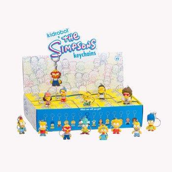 Kidrobot The Simpsons Keychains Series: (Case of 20)