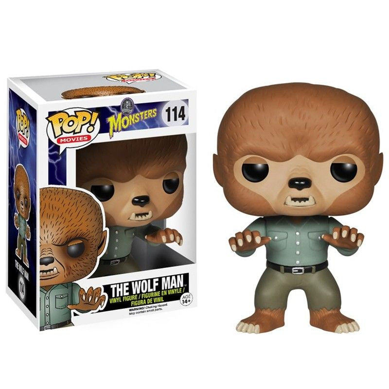 Movies Pop! Vinyl Figure The Wolf Man [Universal Monsters] - Fugitive Toys