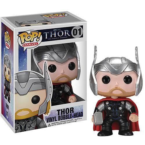 Marvel Pop! Vinyl Bobblehead Thor [01] - Fugitive Toys