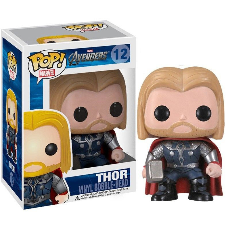 Marvel The Avengers Movie Pop! Vinyl Bobblehead Thor [12]