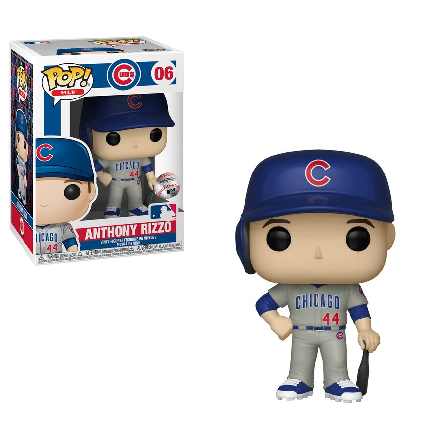 MLB Pop! Vinyl Figure Anthony Rizzo (New Jersey) [Chicago Cubs] [06] - Fugitive Toys