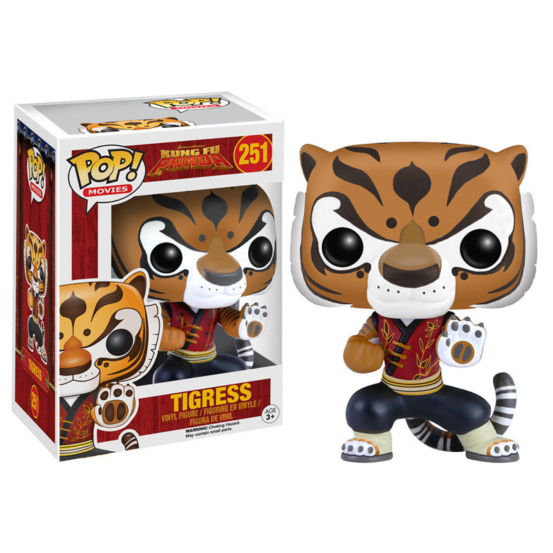 Movies Pop! Vinyl Figure Tigress [Kung Fu Panda] - Fugitive Toys
