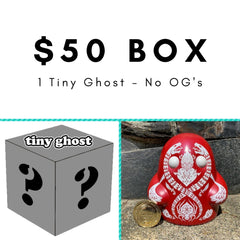 $50 Tiny Ghost Mystery Box [Grey] - Fugitive Toys
