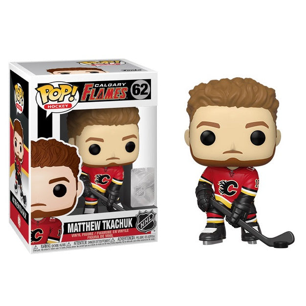 NHL Pop! Vinyl Figure Matthew Tkachuk (Calgary Flames) [62]