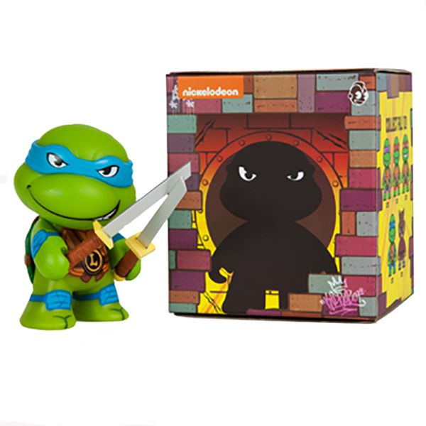 Kidrobot x Teenage Mutant Ninja Turtles Blind Box Mini Series: (1 Blind Box)