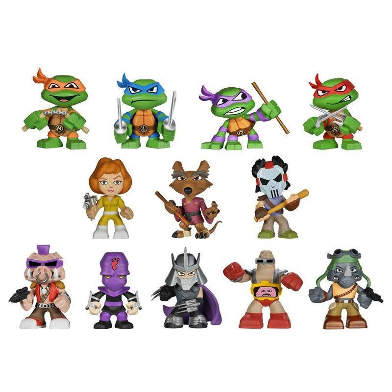 Teenage Mutant Ninja Turtles Mystery Minis: (1 Blind Box)