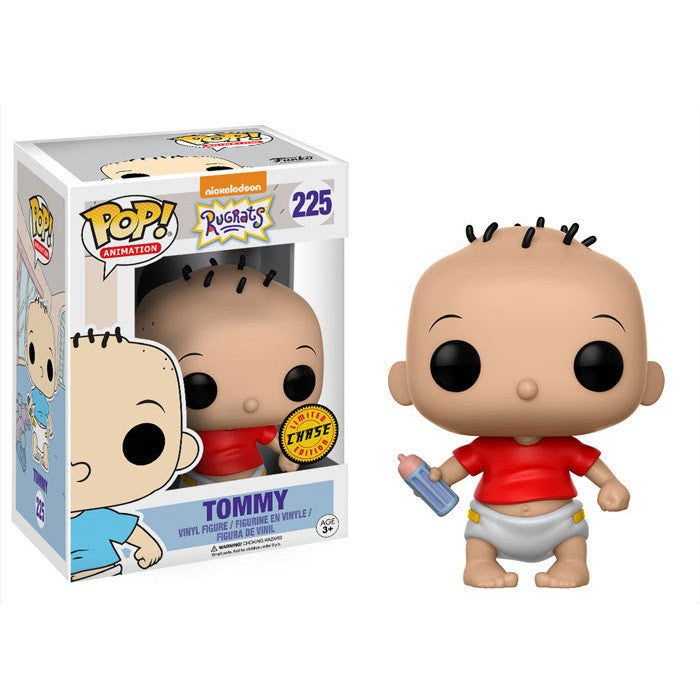 Rugrats Pop! Vinyl Figure Tommy Pickles (Chase) [225] - Fugitive Toys