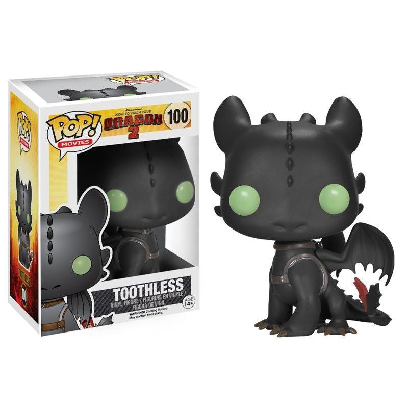 Movies Pop! Vinyl Figure Toothless [How To Train Your Dragon 2] - Fugitive Toys